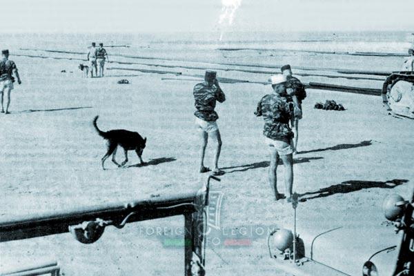 1er ESPL - 1 ESPL - Foreign Legion Etrangere - Hassi R'Mel - 1961