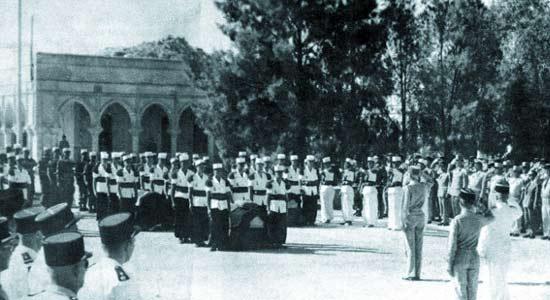1er ESPL - funeral - Ltn Gelas - 1962