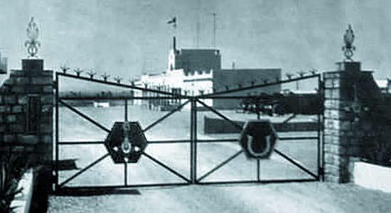 1er ESPL - Ksar El Hirane - entrance - 1961
