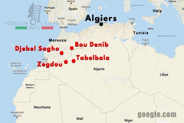 1er REI - 1 REI - Foreign Legion Etrangere - Automobile Company - Tabelbala - Compagnie Automobile - Algerie - Algeria - 1933-40