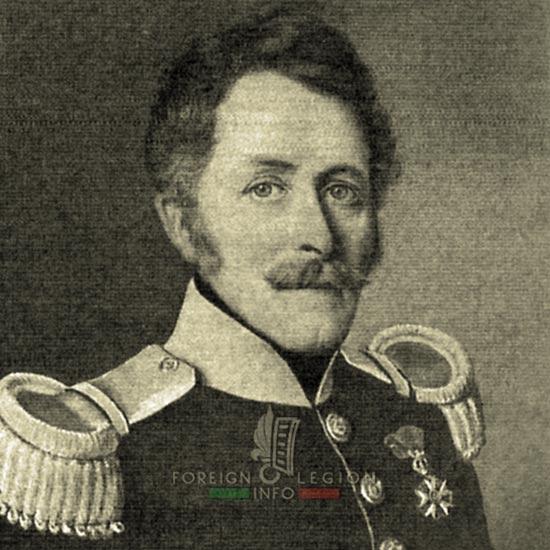 1st Foreign Legion Regiment - Foreign Legion - Lieutenant Colonel de Mollenbec