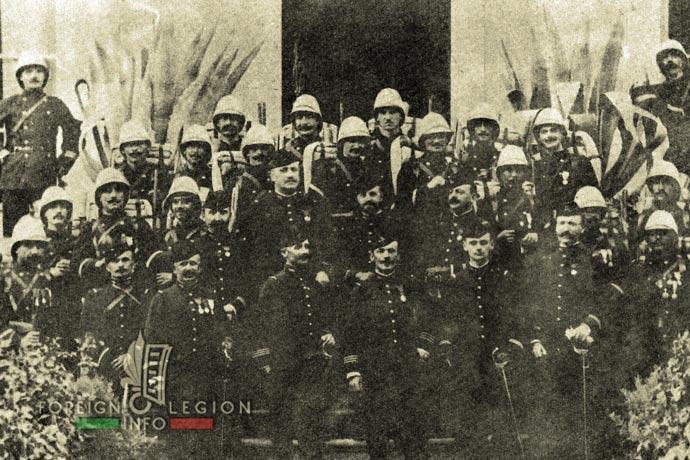 1st Foreign Regiment - Foreign Legion - Legionnaires - Madagascar - 1896
