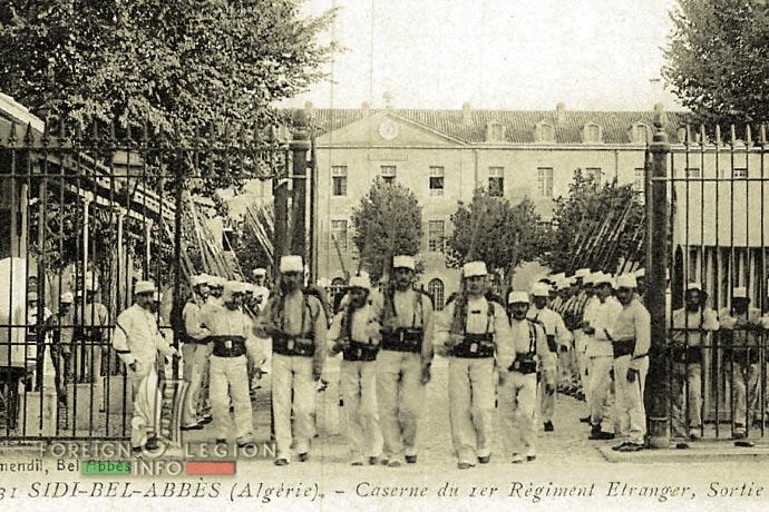 1st Foreign Regiment - Foreign Legion - Caserne Vienot - Sidi Bel Abbès - 1900s
