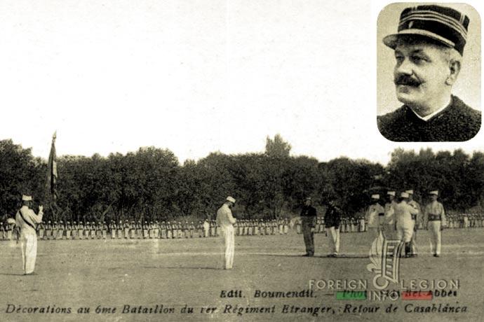 1st Foreign Regiment - Foreign Legion - Sidi Bel Abbès - 6th Battalion - 1908