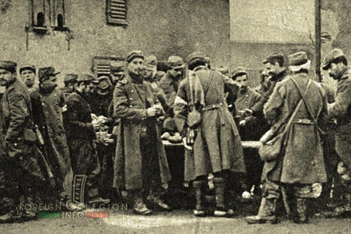 1st Foreign Regiment - Foreign Legion - France - Garibaldi Legion - 1914