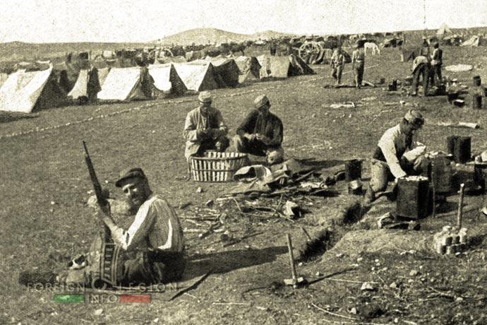 1st Foreign Regiment - Foreign Legion - Legionnaires - Camp Zeitenlik - Greece - 1915