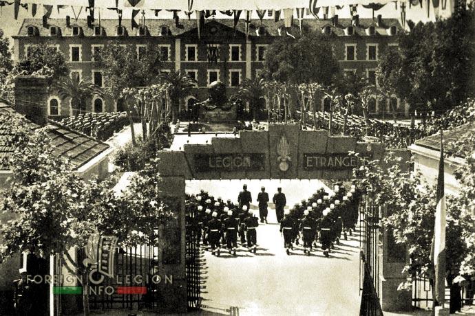 1st Foreign Regiment - Foreign Legion - Sidi Bel Abbès - Algeria - 1956 - Camerone