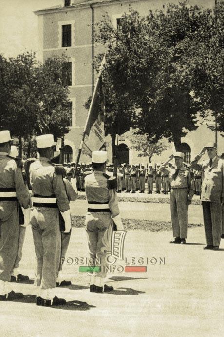1st Foreign Regiment - Foreign Legion - Sidi Bel Abbès - General de Gaulle
