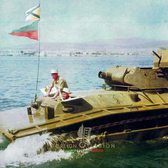 1st Foreign Regiment - Foreign Legion - EALE - Amphibious Squadron - Arzew - 1959