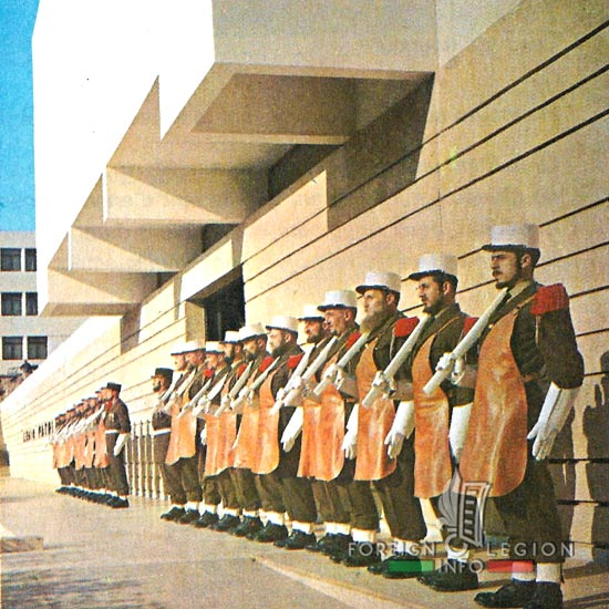 1st Foreign Regiment - Foreign Legion - Pioneers - Museum - 1968