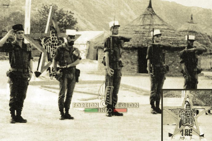 1st Foreign Regiment - Foreign Legion - Motorized Company - Chad - 1970