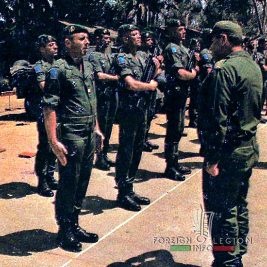 1st Foreign Regiment - Foreign Legion - Section Protection - Lebanon - 1983