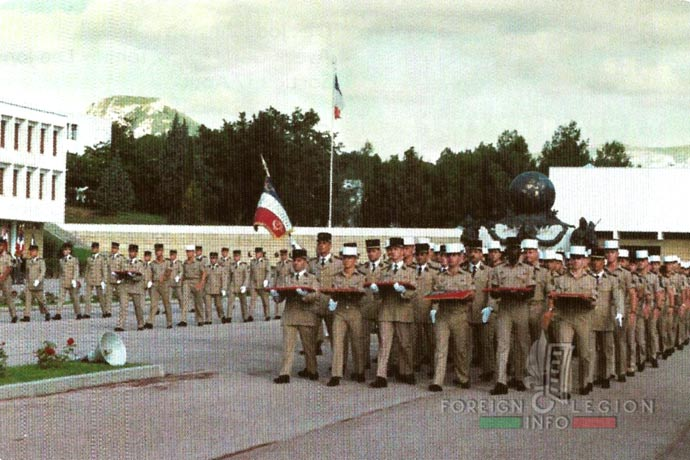 1st Foreign Regiment - Foreign Legion - Operation Daguet - Gulf War - Detachment - Aubagne - 1991