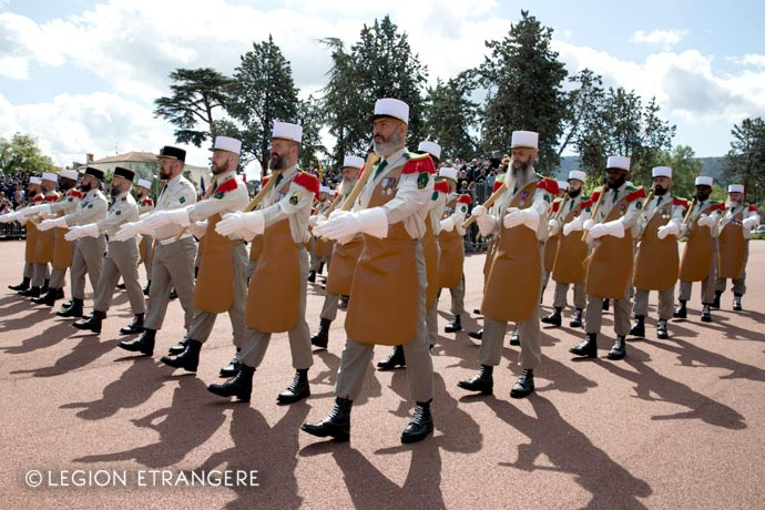 1st Foreign Regiment - Foreign Legion - Sappers - Pioneers - Camerone Day - 2018