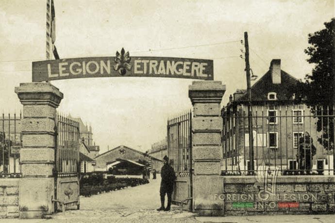 Foreign Legion - Depot - France - Toul - 1939