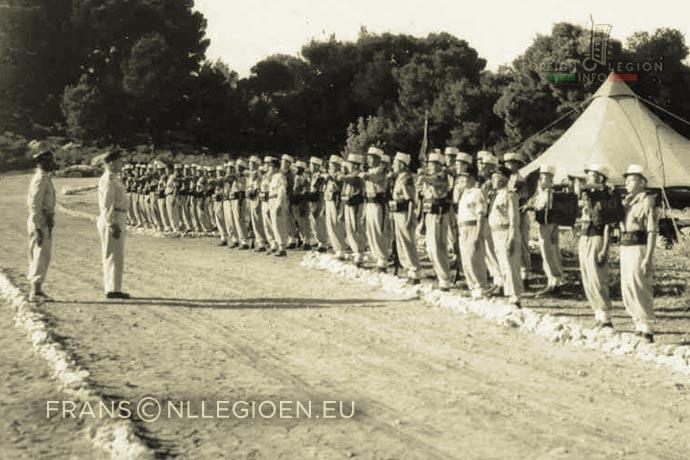1st Foreign Infantry Regiment - Foreign Legion - 1st Battalion - Tunisia - 1948