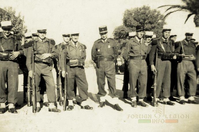 1st Foreign Infantry Regiment - Foreign Legion - 1st Battalion - Algeria - 1949