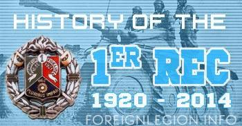 1er Régiment Étranger de Cavalerie - 1er REC - 1 REC - 1st Foreign Cavalry Regiment - History