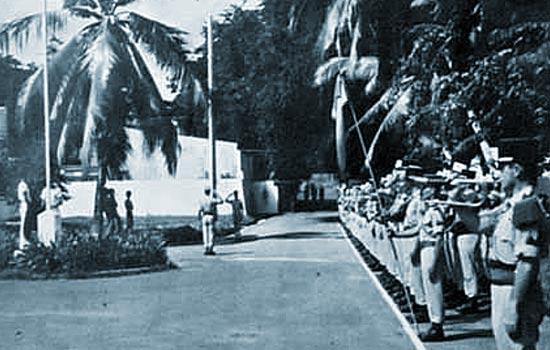 1er REC - 1 REC - 1st REC - Mayotte - 1977