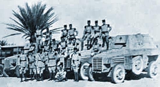 1er REC - 1 REC - 1st REC  - 6 escadron - 6th Squadron - Morocco 1934