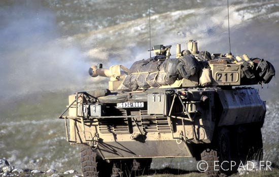 1er REC - 1 REC - 1st REC - Operation Hermine - Bosnia - 1995