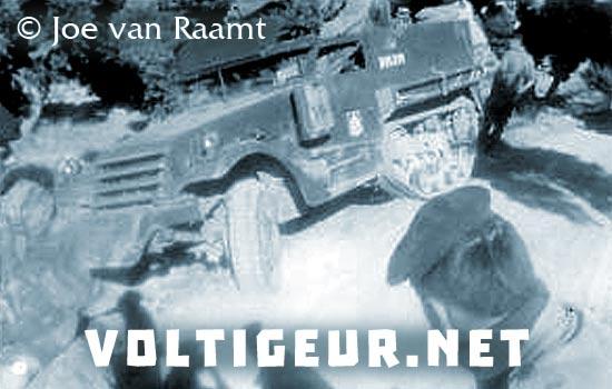 1er REC - 1 REC - 1st REC - M3 Scout Car - Half Truck