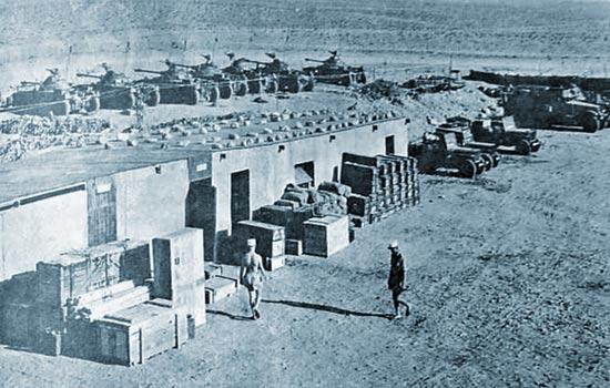 1er REC - 1 REC - 1st REC - Sahara - 1961