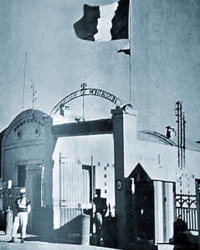 1er REC - 1 REC - 1st REC - Sousse - Tunisia - Quartier - Camp - Montauzon - 1956