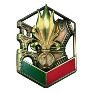 1er REG - 1 REG - 1st REG - insigne - insignia
