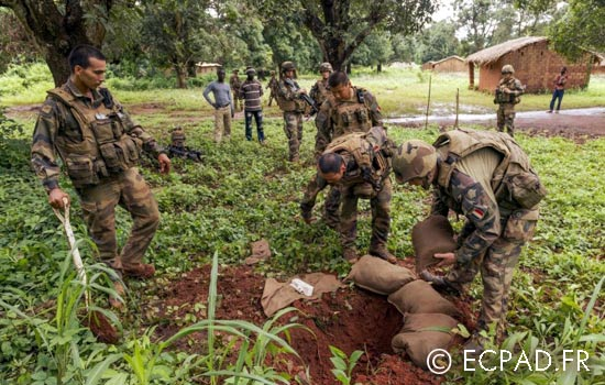 1er REG - 1 REG - 1st REG - Operation Sangaris - Central African Republic - 2014