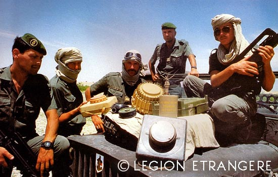 6e REG - 6 REG - 6th REG - Operation Epervier - Chad - 1987