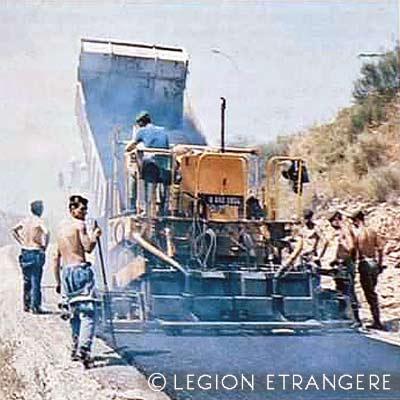 CRTRLE - Compagnie Renforcée de Travaux Routiers de la Légion Étrangère - Compagnie Renforcée de Travaux Routiers - Canjuers - 1980