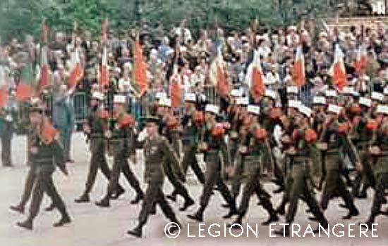 CRTRLE - Compagnie Renforcée de Travaux Routiers de la Légion Étrangère - Compagnie Renforcée de Travaux Routiers - Aubagne - Camerone - 1983