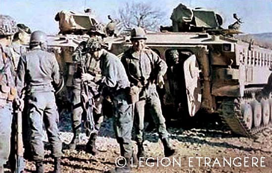 CRTRLE - Compagnie Renforcée de Travaux Routiers de la Légion Étrangère - Compagnie Renforcée de Travaux Routiers - 1981
