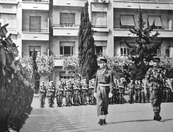 1er BEP in Algiers in April 1955