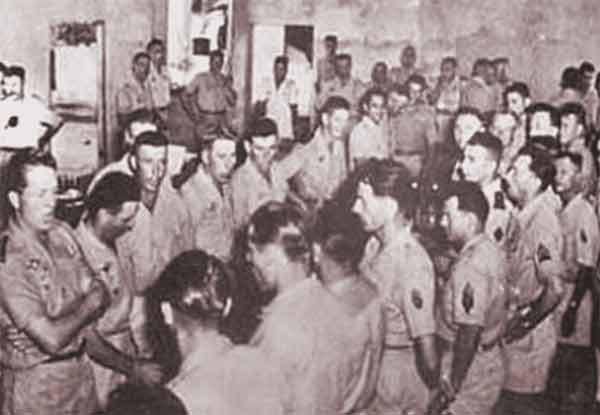 1er BEP in Saigon in February 1955