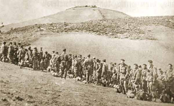 3rd Company of the 1er REP at Guelma in January 1958