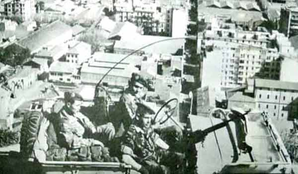 1er REP jeep patrol during the Battle of Algiers in 1957
