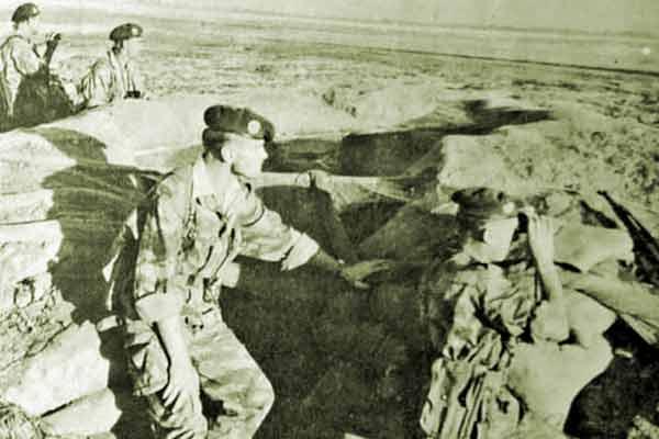 1er REP checkpoint Suez Crisis