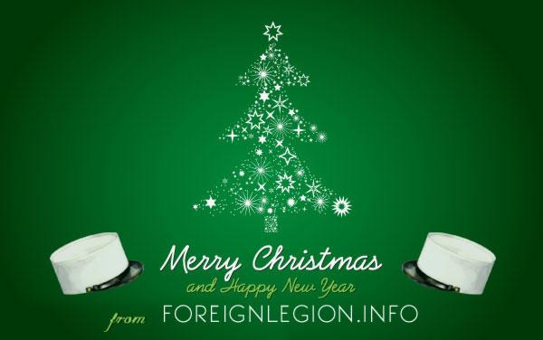 ForeignLegion.info wish you a Merry Christmas / Joyeux Noël 2012!
