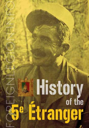 History of the 5th Foreign Regiment
