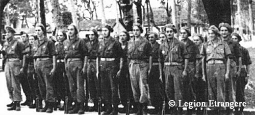 Parachute Company of 3e REI in Hanoi 1948