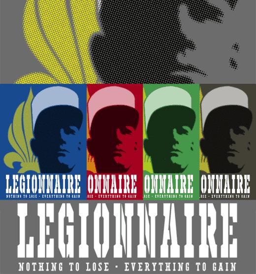 French Foreign Legion T-shirt - Legionnaire
