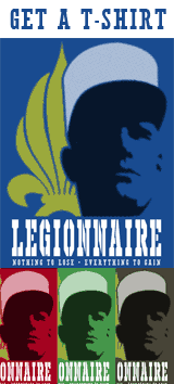 Get the Foreign Legion T-shirt - Legionnaire t-shirt