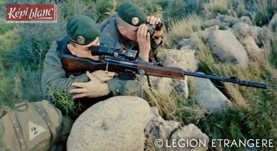 2e REP - snipers of the 2nd Platoon of the 4th Company in October 1981
