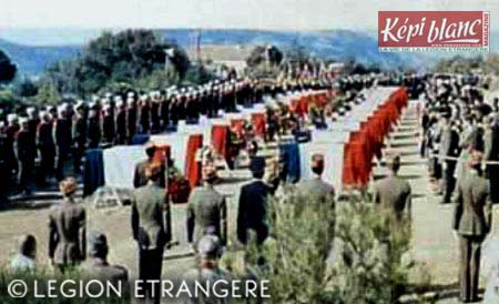 Mont Garbi accident - funeral ceremony