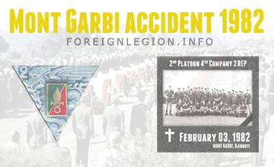2e REP - Mont Garbi accident 1982