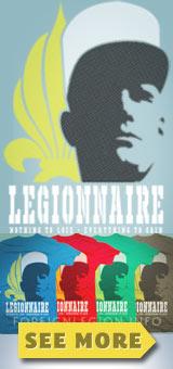 Get the Foreign Legion T-shirt - Legionnaire t-shirt
