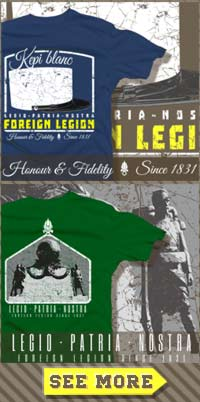 Get the Foreign Legion T-shirt