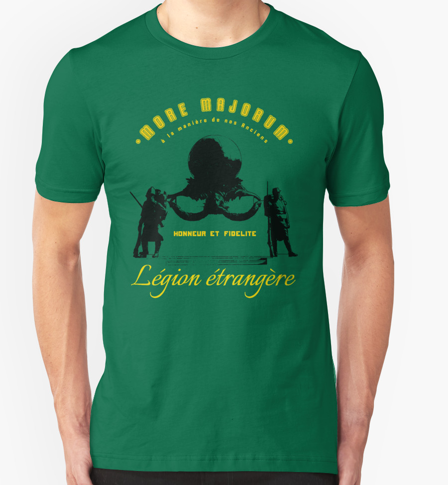Foreign Legion T-shirt - Monument aux morts - War memorial - Aubagne - Legion etrangere